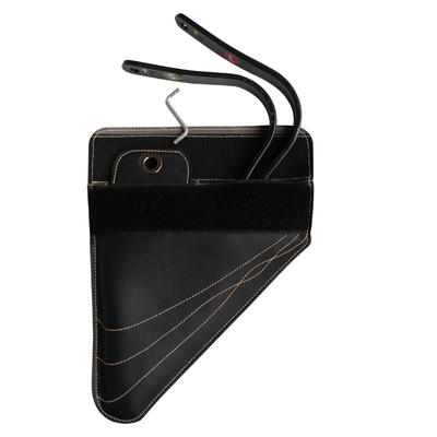 Selle polyvalente synthétique à arçon réglable équitation cheval RIDE noir 17_QUOTE_5