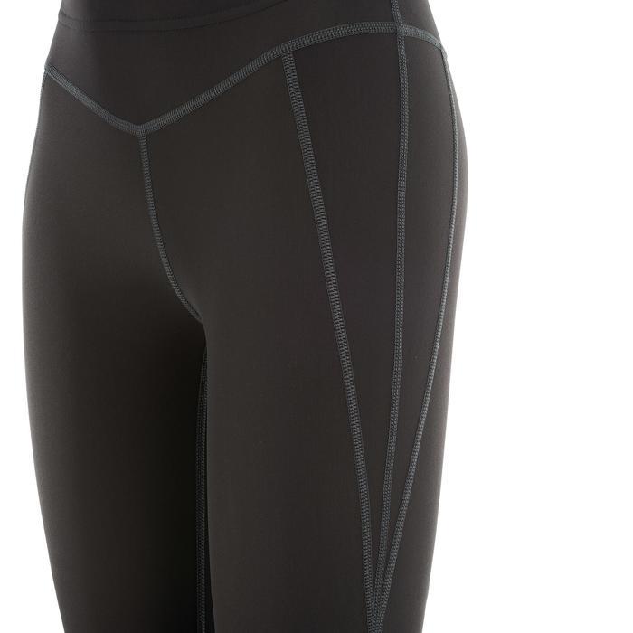 Warme dameslegging voor langlaufen zwart