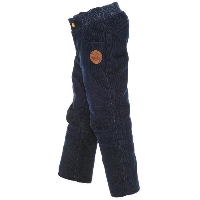 Pantalon de randonnée enfant garçon Hike 500 marine - 1010310