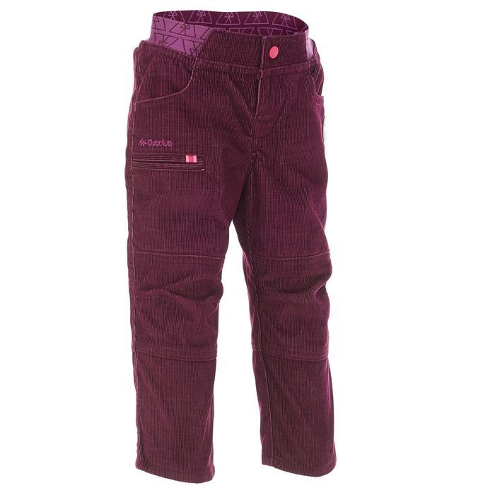 Pantalon de randonnée enfant garçon Hike 500 marine - 1010311
