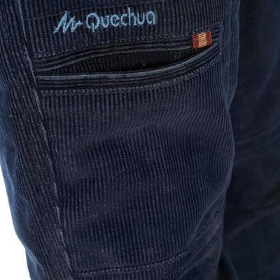 מכנסיים לטיולים Hike500 לבּנים - כחול נייבי