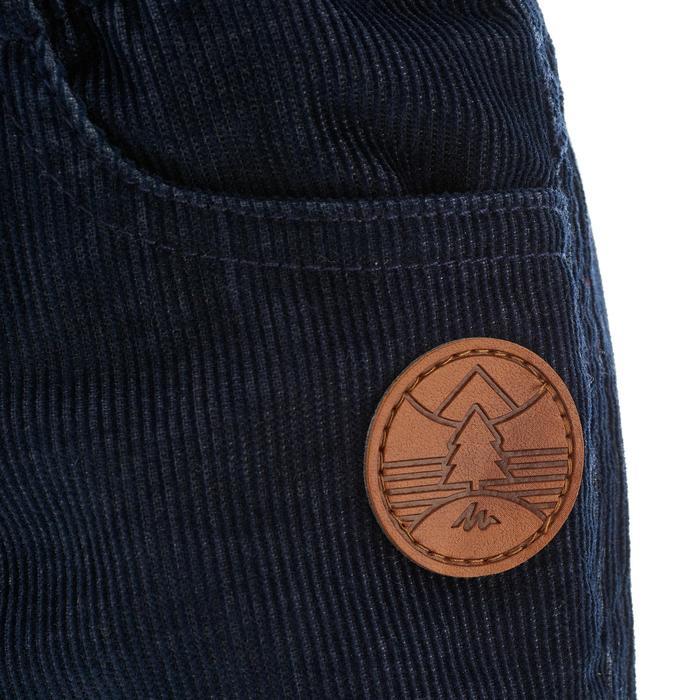 Wanderhose SH100 Warm Kinder Jungen marineblau