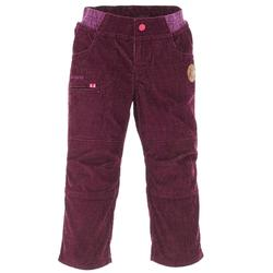 Pantalon de randonnée neige junior SH100 Warm Marine