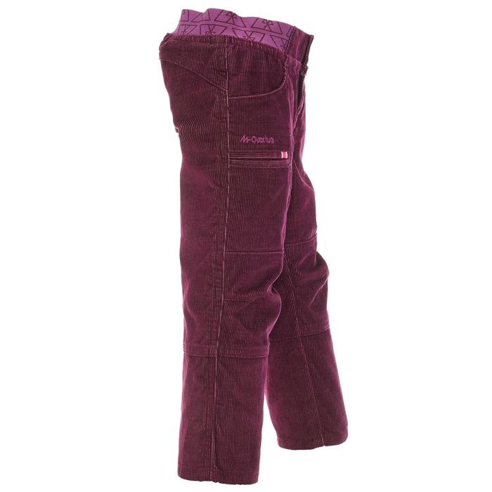Pantalon de randonnée enfant garçon Hike 500 marine - 1010386