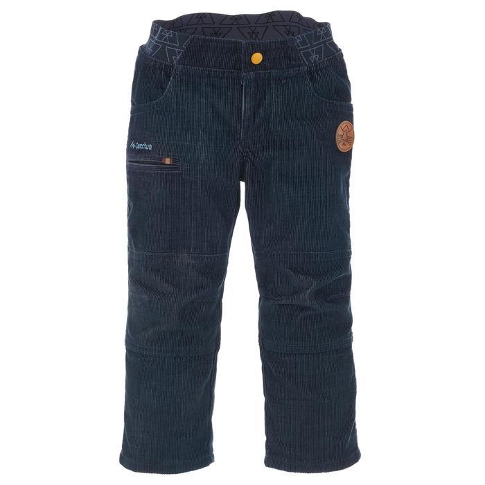 Pantalon de randonnée enfant garçon Hike 500 marine - 1010439