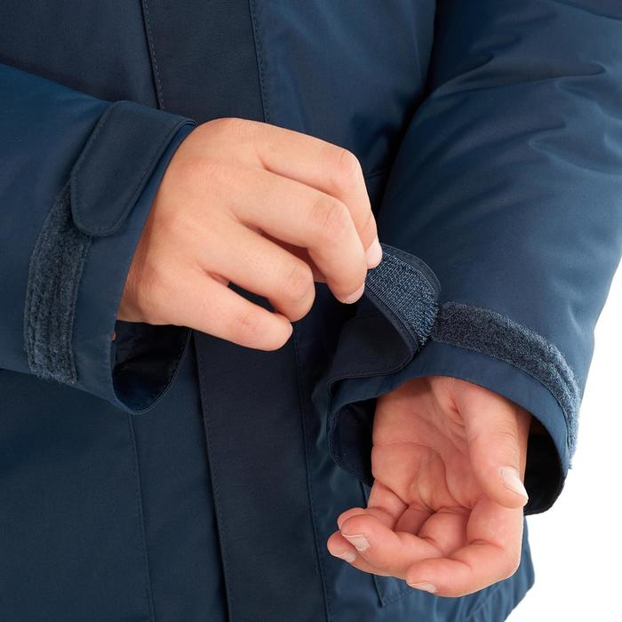 Kinderjas voor sneeuwwandelen SH500 x-warm blauw