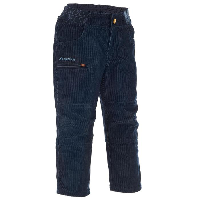 Pantalon de randonnée enfant garçon Hike 500 marine - 1010473