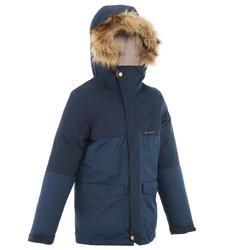 Warme en waterdichte jongensjas voor trekking XX Warm - 1010480