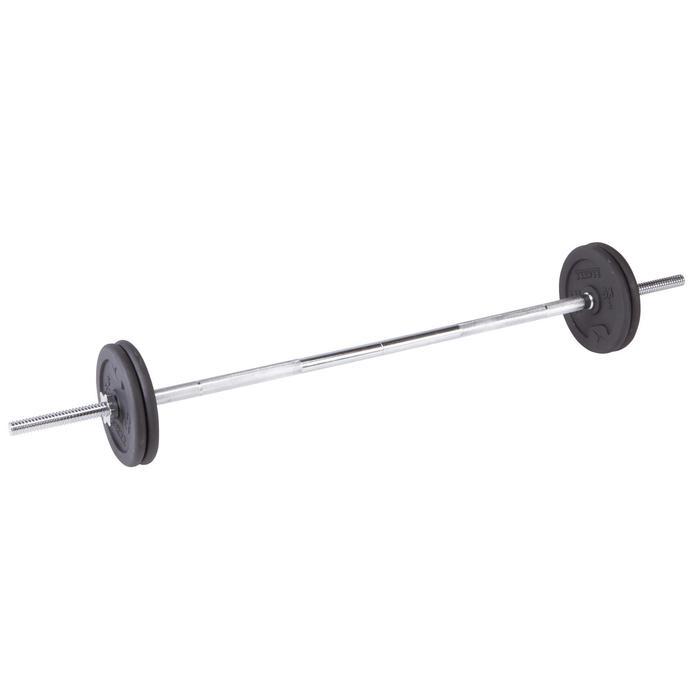 Kit haltères et barres musculation kit 50 kg - 101062