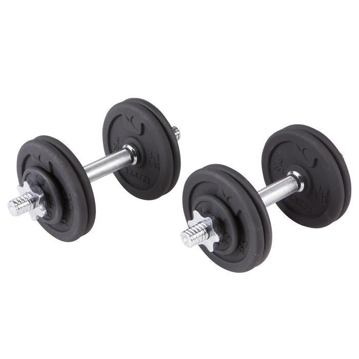 Kit haltères et barres musculation kit 50 kg - 101064