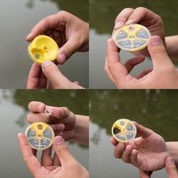 Verdeeldoos 4 vaks gespleten zinklood