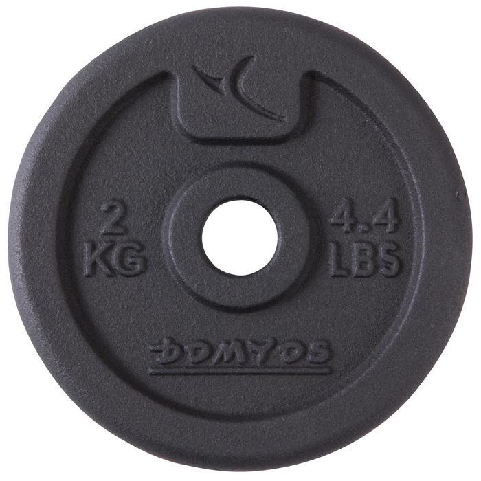 Kit haltères et barres musculation kit 50 kg - 101070