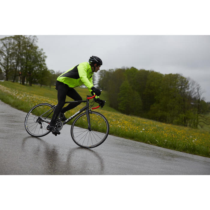 COUPE PLUIE VELO HOMME 500 FLUO SOFTLIME - 1011082
