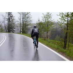 FIETSREGENJAS ULTRALIGHT RACEFIETS VOOR HEREN CYCLOSPORT ZWART