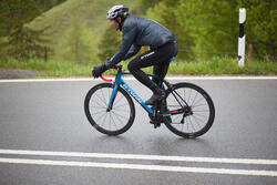 Regenjasje 900 Light voor fietsers, herenmodel, grijs - 1011137