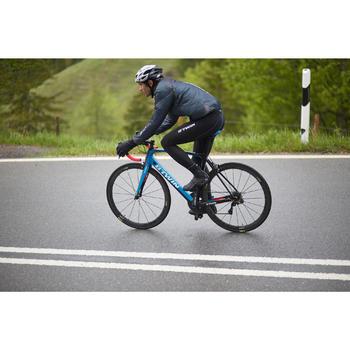 Fahrrad Regenjacke Rennrad RR 900 Ultralight Herren schwarz