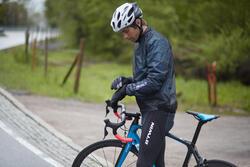 Regenjasje 900 Light voor fietsers, herenmodel, grijs - 1011141