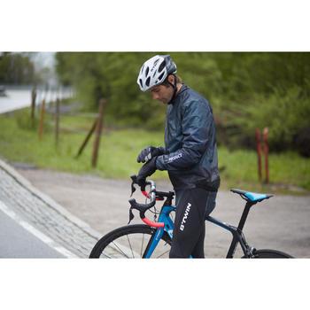 COUPE PLUIE ULTRALIGHT VELO ROUTE HOMME CYCLOSPORT NOIR