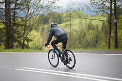 Regenjasje 900 Light voor fietsers, herenmodel, grijs - 1011150