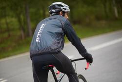 Regenjasje 900 Light voor fietsers, herenmodel, grijs - 1011155