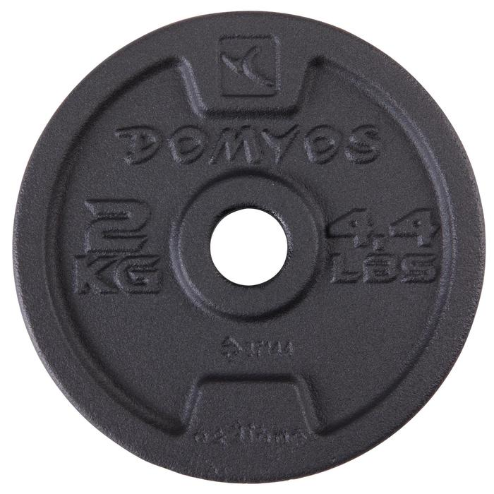 Hantelset mit Stangen 93 kg