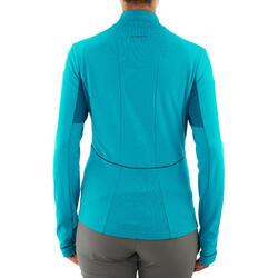 T-shirt lange mouwen Forclaz 500 warm - 1011310