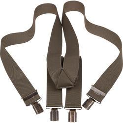 Bretels voor jagers effen kaki