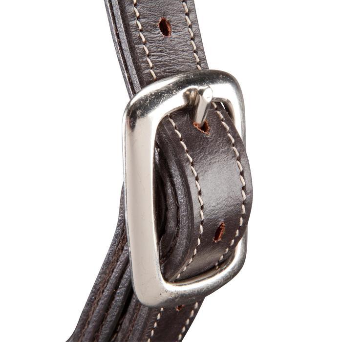 Licol équitation poney et cheval ROMEO cuir - 101142