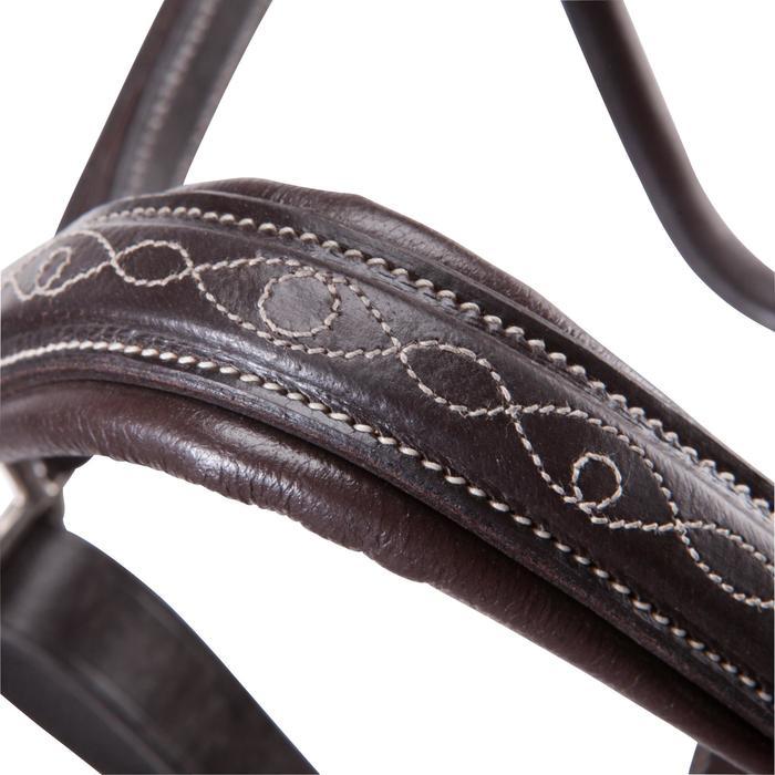 Licol équitation poney et cheval ROMEO cuir - 101144