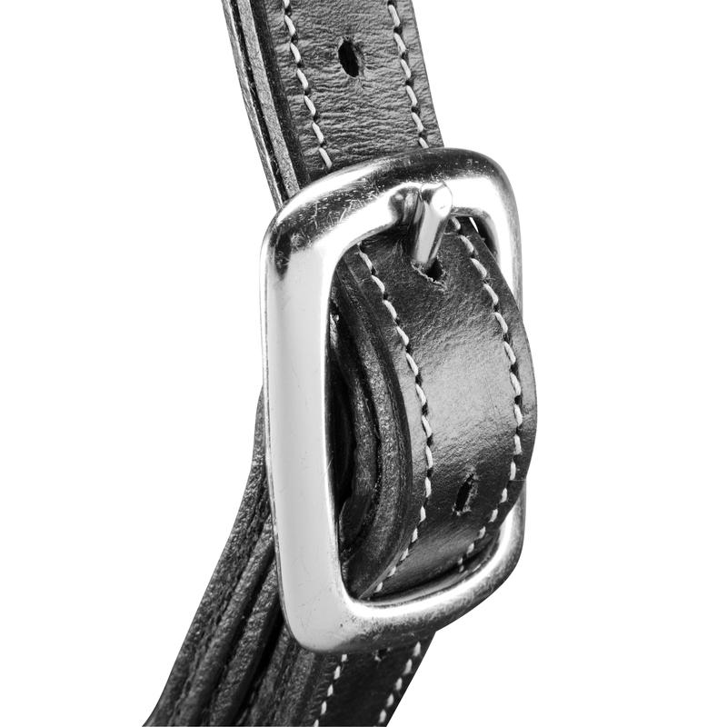 Romeo Horse Riding Leather Halter for Horse or Pony - Black