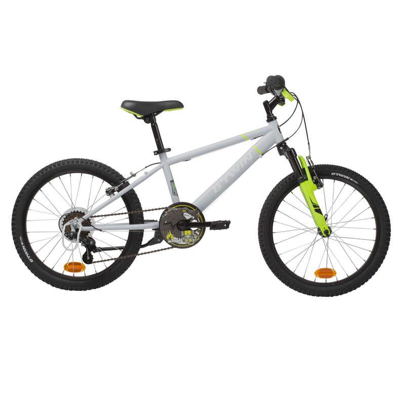 BICICLETE MTB COPII 6-12 ANI - Bicicletă MTB Racing Gri  BTWIN