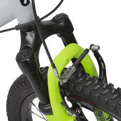 "MTB 20"" Racing Boy 500 Kinder grau/neongelb"