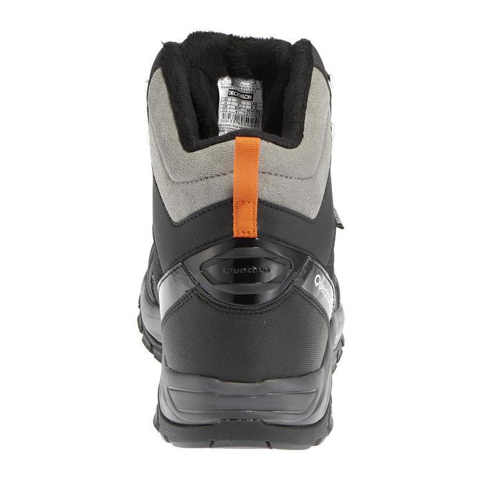 Chaussures de randonnée neige homme SH520 x-warm mid noires. - 1011624