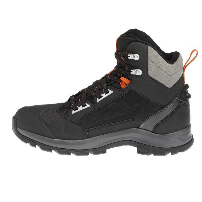 Chaussures de randonnée neige homme SH520 x-warm mid noires. - 1011635