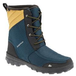Wandellaarzen voor de sneeuw dames SH300 warm waterdicht blauw