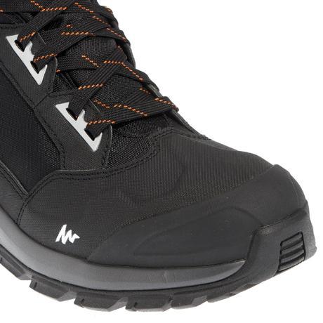 chaussures de randonn e neige homme sh500 active chaudes et imperm ables noir quechua. Black Bedroom Furniture Sets. Home Design Ideas