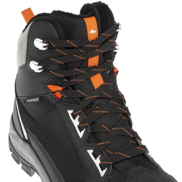 Chaussures de randonnée neige homme SH520 x-warm mid noires. - 1011663