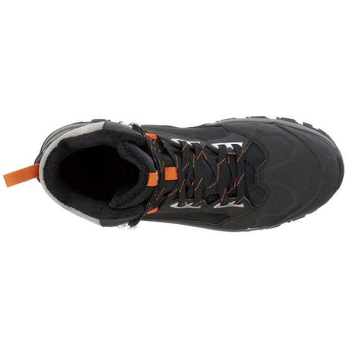 Chaussures de randonnée neige homme SH520 x-warm mid noires. - 1011679