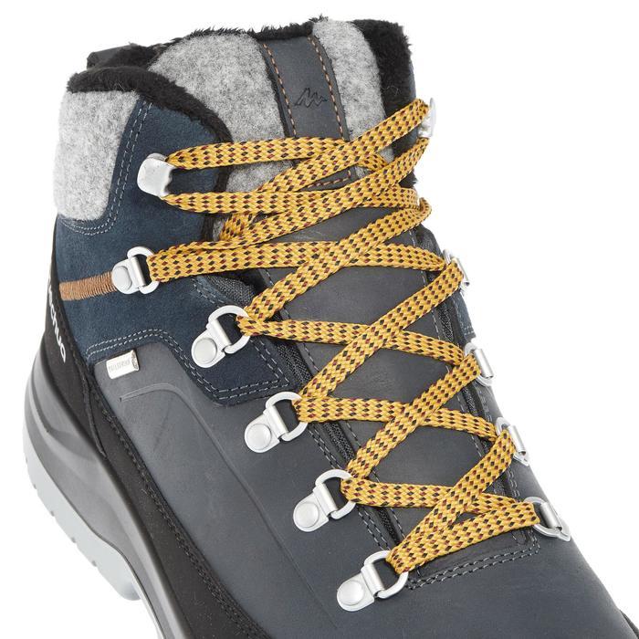 Chaussures de randonnée neige homme SH500 chaudes et imperméables blue - 1011693