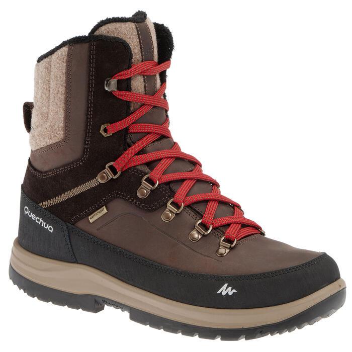Chaussures de randonnée neige homme SH900 high chaudes et imperméables - 1011703