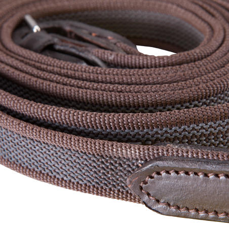Romeo Horse Riding Reins For Horse/Pony - Brown
