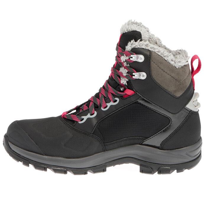 Chaussures de randonnée neige femme SH500 active chaudes et imperméables - 1011735