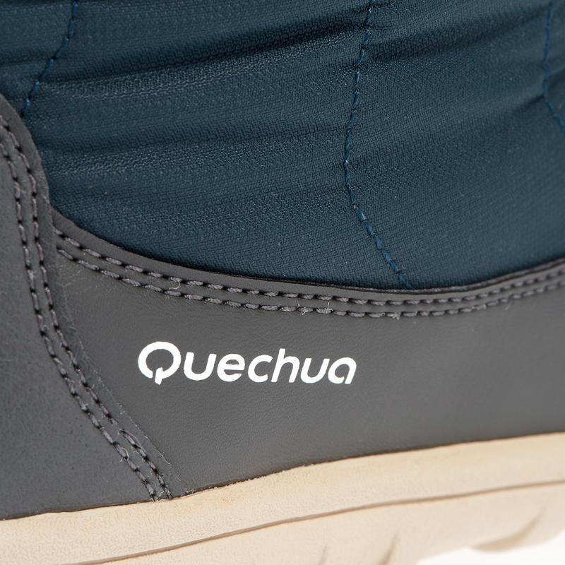 Women's Snow Boots SH500 (X-Warm) - Blue