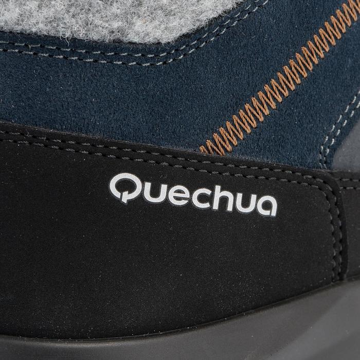 Chaussures de randonnée neige homme SH500 chaudes et imperméables blue - 1011755