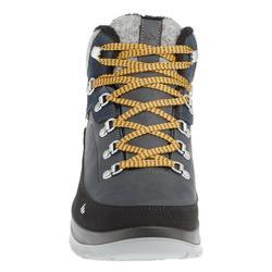 Heren wandelschoenen voor de sneeuw SH500 X-Warm mid blauw.