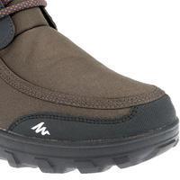 SH300 Men's Warm and Waterproof Snow Hiking Boots - Dark grey