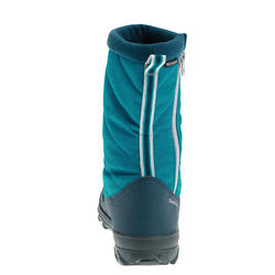 SH500 Warm JR Snow Hiking Boots - Blue