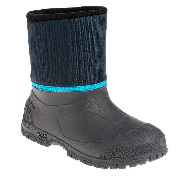 Bottes de randonnée neige Enfant SH100 chaudes et imperméables Blue - 1012021
