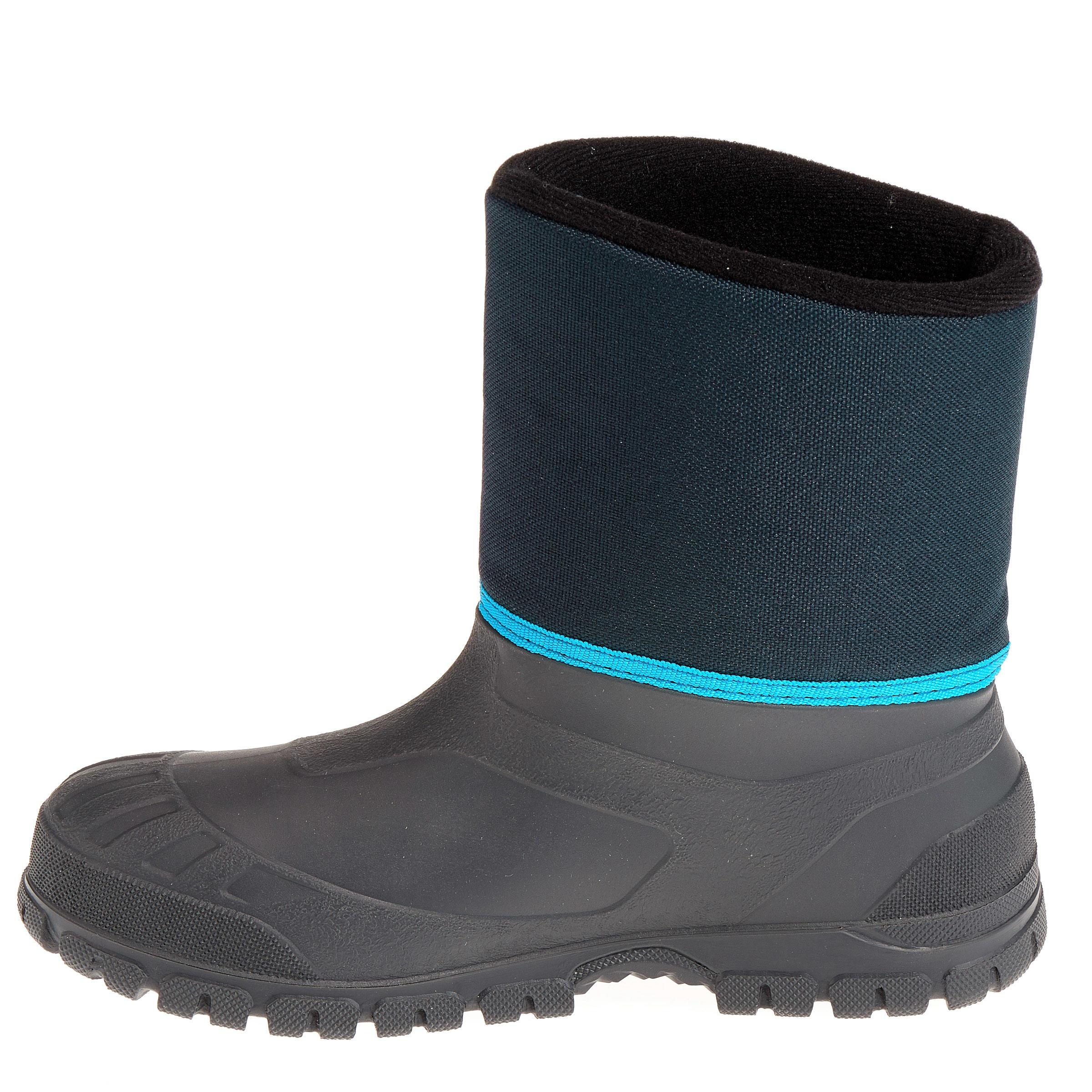 SH100 Warm Child's Snow Hiking Pants - Blue