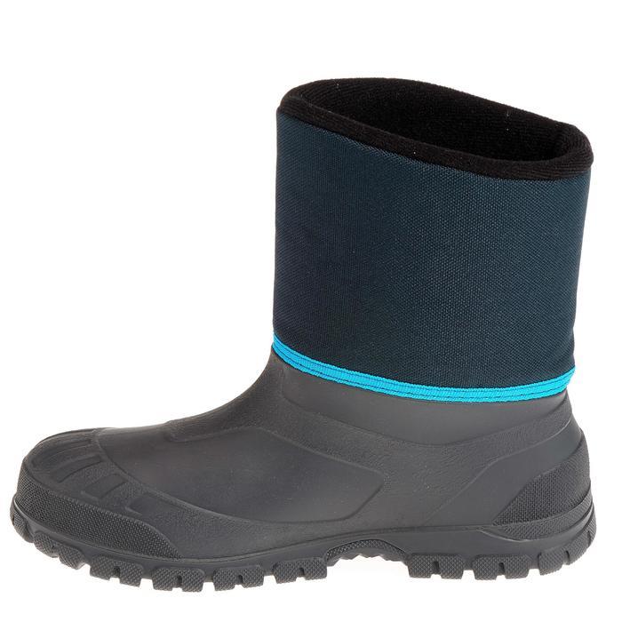 Bottes de randonnée neige Enfant SH100 chaudes et imperméables Blue - 1012040